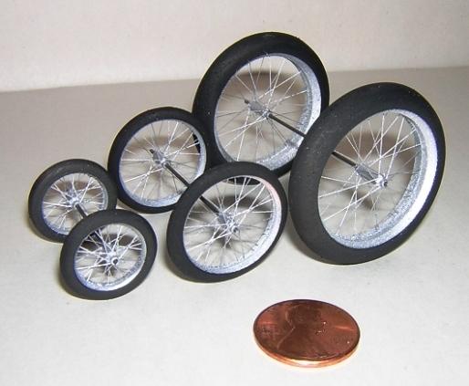 Как сделать колеса на модели